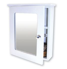Wildberry Bathroom Single Cabinet - White