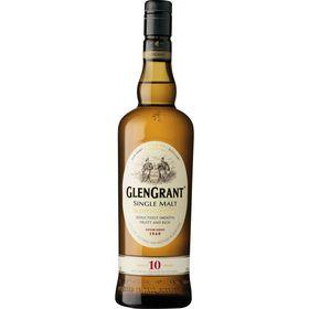 Glen Grant - 10 Year Old Single Malt Whisky -  750ml