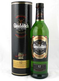 Glenfiddich 12 Year Old Special Reserve Single Malt Whisky -  Case - 12 x 750ml