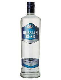 Russian Bear - Energy Fusion Vodka - Case 6 x 750ml