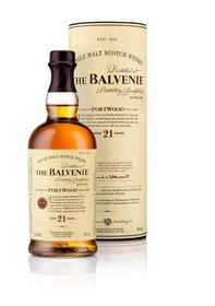 The Balvenie - 21 Year Old Port wood Single Malt Whisky -  750ml