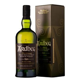 Ardbeg - 10 Year Old Single Malt Whisky -  750ml