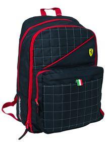 Ferrari Black Label Collection Expandable Backpack