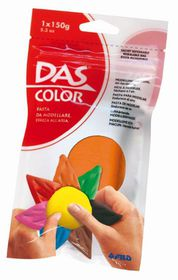 DAS Air Hardening Modelling Clay 150g - Orange