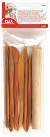 DAS 7 Piece Wooden Cutters Modelling Tools