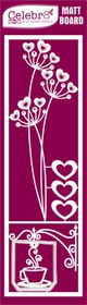 Celebr8 Matt Board Lanki - Heart Flower
