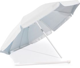 St Umbrella - Beach Umbrella - White