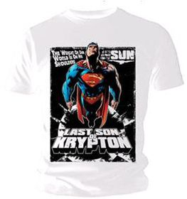 Superman - Last Son Comic T-Shirt (X-Large)
