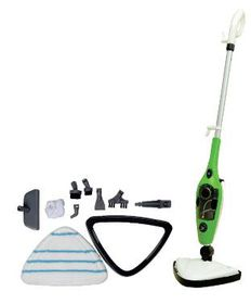 Genesis - 10-in-1 Steam Mop - White and Green