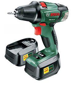 Bosch - PSR 18 LI-2 Cordless Drill/Driver - Green