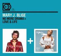 Mary J Blige - 2 For 1: No More Drama / Love & Life (CD)