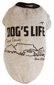Dog's Life - Cape Town 2006 Grey - Extra-Small