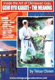 GojuInside the Art of Okinawan Goju: The Meaning (DVD)