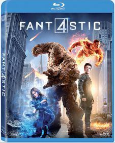 The Fantastic Four 2015 (Blu-ray)