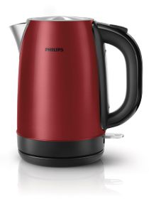 Philips Metal Kettle - Red