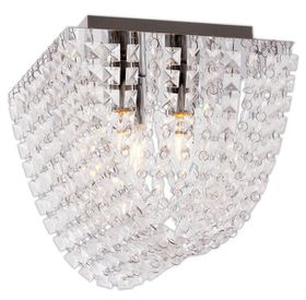 Bright Star Ceiling Fitting - Chrome