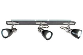 Bright Star Black And Chrome Spot Lights