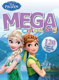Disney Frozen 120 Page Colouring Book