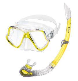 Mares Aquazone Set - Wahoo Adult - Yellow