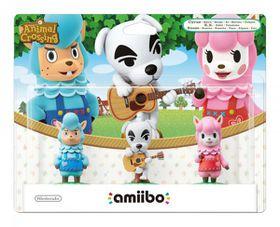 amiibo AC 3-Pack: Reese / K.K. / Cyrus (Wii U)