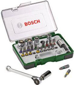 Bosch - 27 Piece Mini-Ratchet Set + Hand Screwdriver