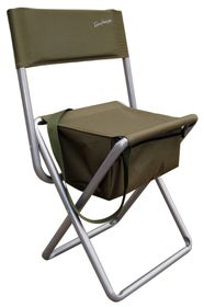 Kaufmann - Fisherman Chair with Backrest - Khaki