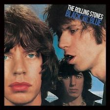 The Rolling Stones - Black and Blue Framed Album Cover Print