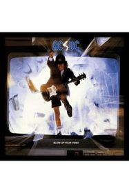 AC/DC - Blow Up Your Video Framed Album Cover Print