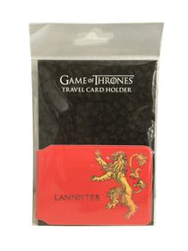 Game of Thrones Lannister Travel Card Holder