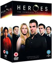 Heroes: The Complete Series 1-4