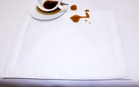 Balducci - 100% Polyester Placemats - Set Of 6 - White