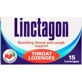 Linctagon Lozenges Cherry Menthol - 15s