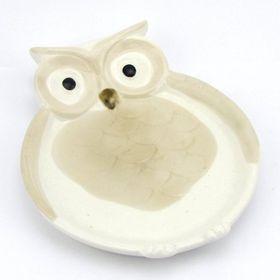 Pamper Hamper - Porcelain Owl Plate