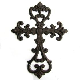 Pamper Hamper - Cast Iron Cross - Fleur De Lis