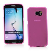Pink Frost TPU Gel Cover Case for Samsung Galaxy S6 G920