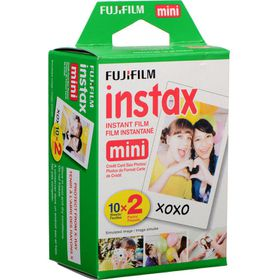 Fujifilm Instax Mini Film Plain Pack of 20