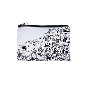 Meeco Doodle Me Small (21cm) Pencil Bag with Zip - Junior Boys
