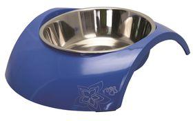 Rogz - 2-in-1 Luna Blue Dog Bowl - Small