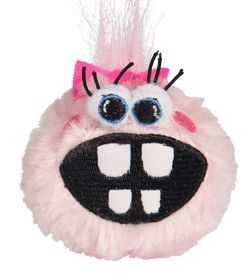 Rogz - Pupz Grinz Pink Roxi Squeak Toy - Small