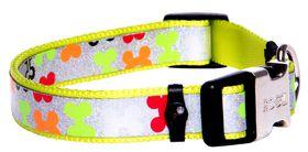Rogz Lapz Trendy Multi Bones Side Release Dog Collar - Medium