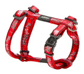 Rogz Fancy Dress Red Rogz Bon Dog H-Harness - Small