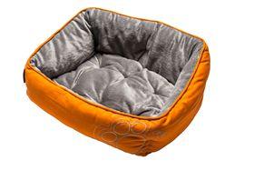 Rogz Lapz Luna Podz Orange Paw on Orange - Extra Small