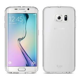 iLuv Vyneer Transparent Case For Galaxy S6 Edge - Clear