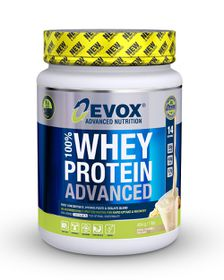 Evox 100% Whey Protein Advanced - Apple Crumble 454g