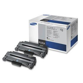 Samsung MLT-P105A Twin Pack Printer Colour Toner Cartridge