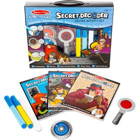 Melissa & Doug Secret Decoder - Deluxe Acitivity Set