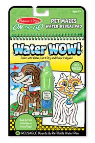 Melissa & Doug Pet Maze Water Wow