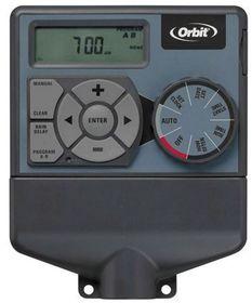 Orbit - Water Controller Indoor 4 Station - Grey