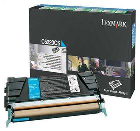 Lexmark C5220CS Cyan Return Program Toner Cartridge - Laser Toner/ Print Cartridge