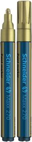 Schneider Maxx 270 Paint Marker - Gold
